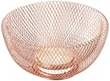 NIFTY 7510COP Double Wall Mesh Copper Decorative and Fruit Bowl, 3.5...