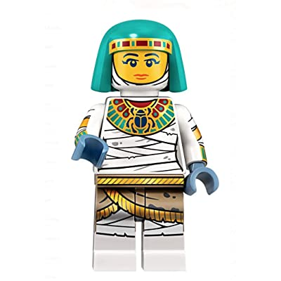 LEGO Minifigures Series 19 Egyptian Mummy Queen Minifigure 71025: Toys & Games