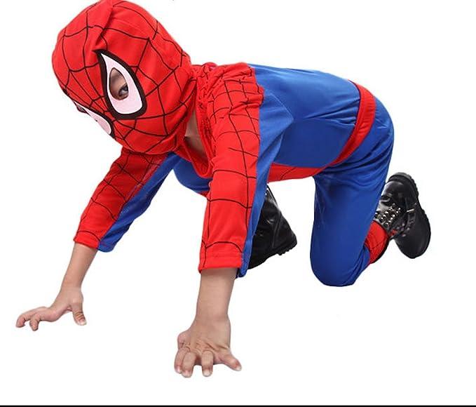 Kids Amazing Spiderman Spandex Zentai Suite Halloween Costume (Small)  sc 1 st  Amazon.com & Amazon.com: Kids Amazing Spiderman Spandex Zentai Suite Halloween ...