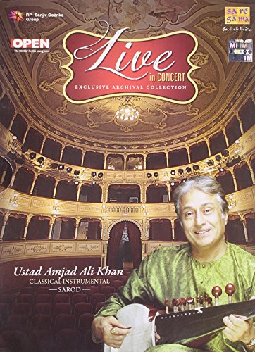 Live In Concert – Ustad Amjad Ali Khan (Exclusive Archival Collection / Hindustani Classical Instrumental / Sarod / 2-CD Set) by Saregama