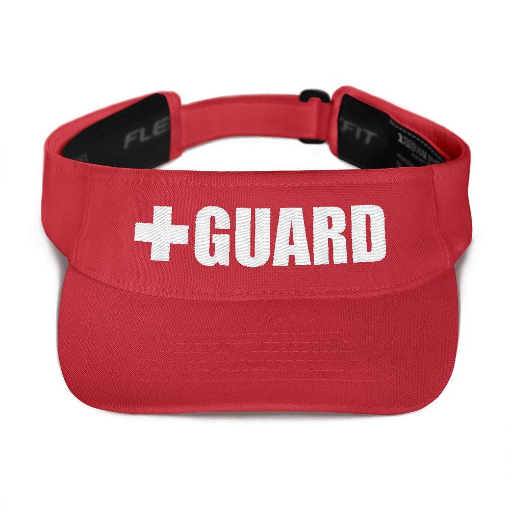 Lifeguard Flex Visor Red
