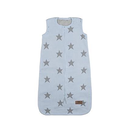 Baby s Only 917293 Saco de dormir Forro de peluche con estrella Baby Azul/