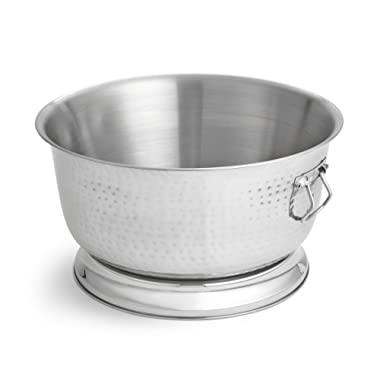Artisan Double Wall, Stainless Steel Beverage Chiller Ice Tub, 17-Quart Capacity