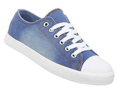 official photos cd07b 09620 Damen Schuhe Freizeitschuhe Sneakers Jeans Sportschuhe ...