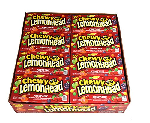 Chewy Lemonhead Fruit Mix - 24 / Box