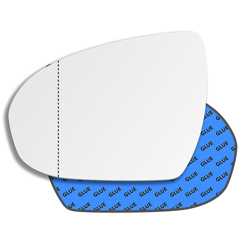 Hightecpl 812LAS Vetro di ricambio per specchietto retrovisore laterale sinistro