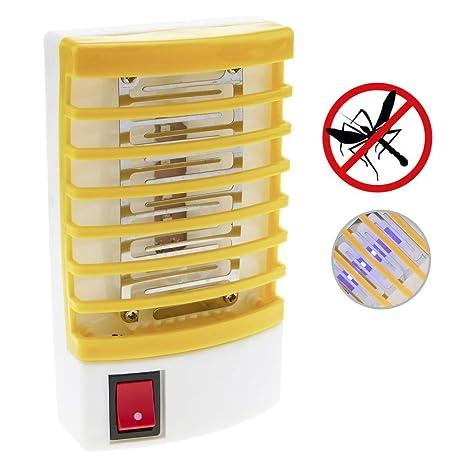 PrimeMatik - Lampe Tue moustiques Branchez la Lampe Anti Mouches  Insecticide électrique faf6ae92d29f