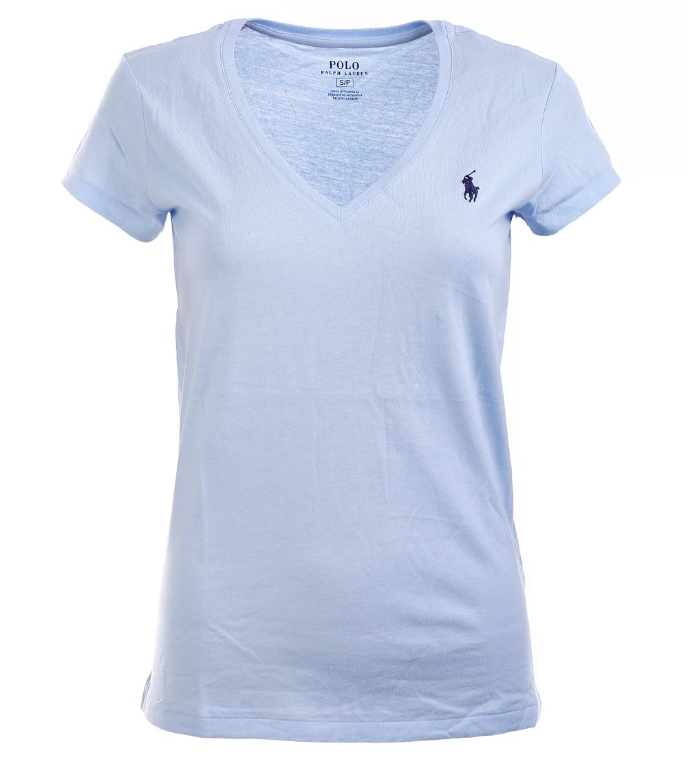 72fdf147 Ralph Lauren Womens V Neck Jersey T Shirt