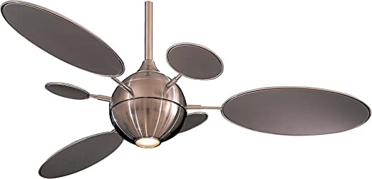 "Minka Aire F596 BN Cirque 54"" Ceiling Fan Brushed Nickel"