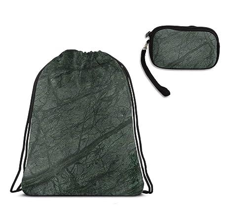 Amazon.com: Saco de mármol verde de bosque para gimnasio ...