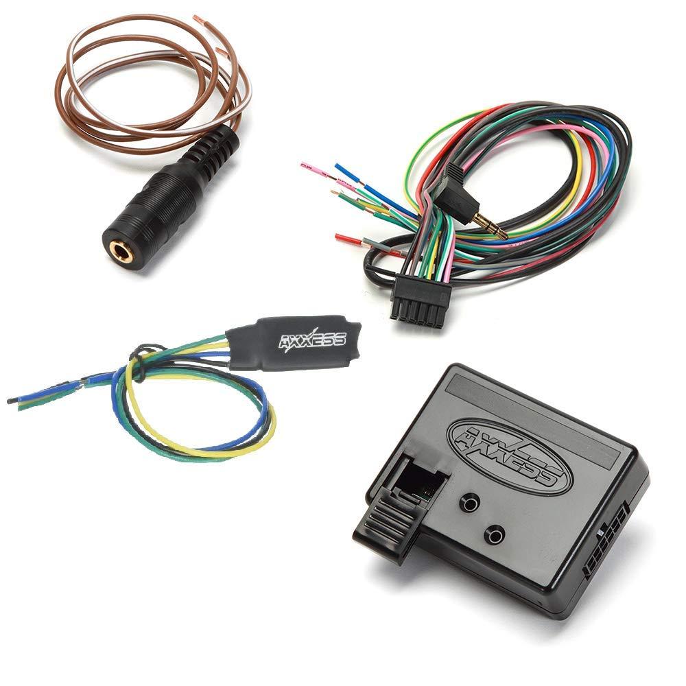 Metra Axxess ASWC-1 Universal Steering Wheel Control Interface Axxess AX-TRIG1 Universal Bypass Module