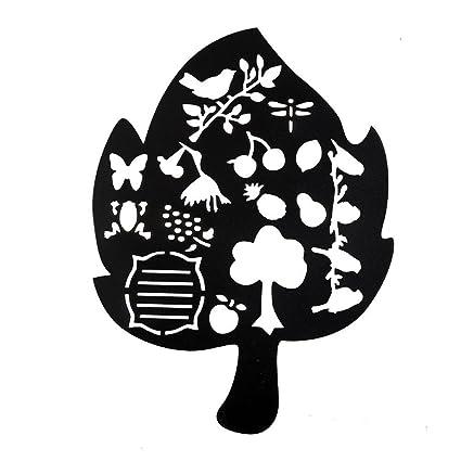 KOBWA Bullet Journal Stencil Drawing Template For DiaryNotebookScrapbookCardArt