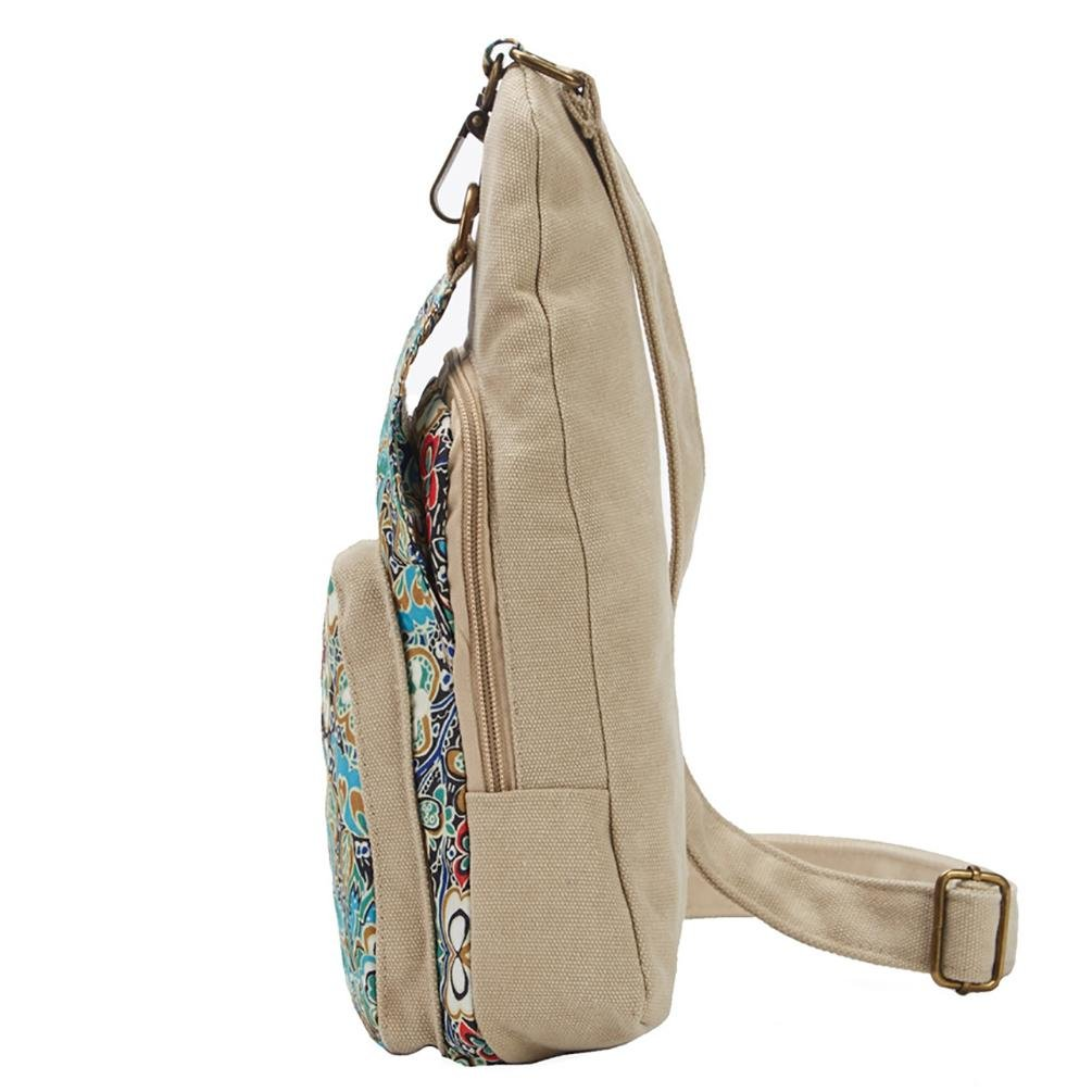 BLACK BUTTERFLY Ladies Canvas Shoulder Bag to send 1 mirror and 1 coin pocket