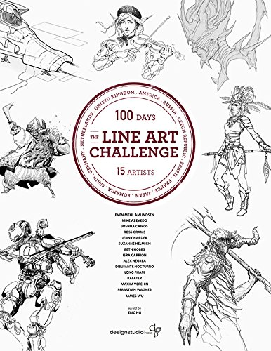 The Line Art Challenge: 100 sketches for 100 - Studio Line Catalogue