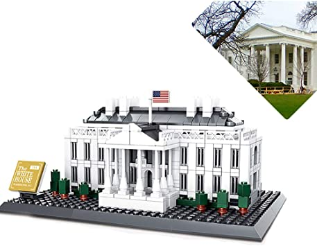 or Adult Educational Learning 3D Building Blocks Toys for Age 6+ 770PCS Architecture White House Building Bricks
