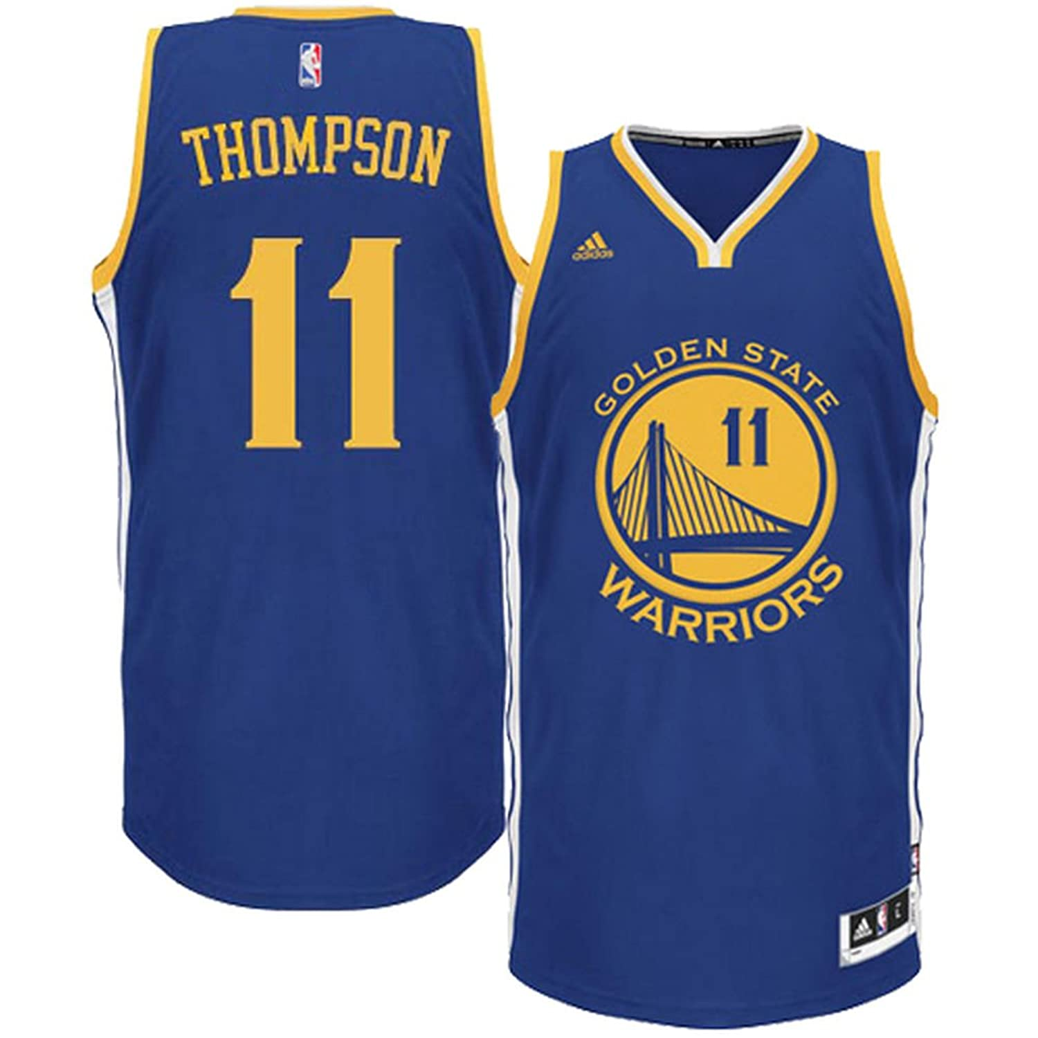 965f60bbfde Klay Thompson Golden State Warriors NBA Adidas Toddler Blue Road Replica  Jersey low-cost