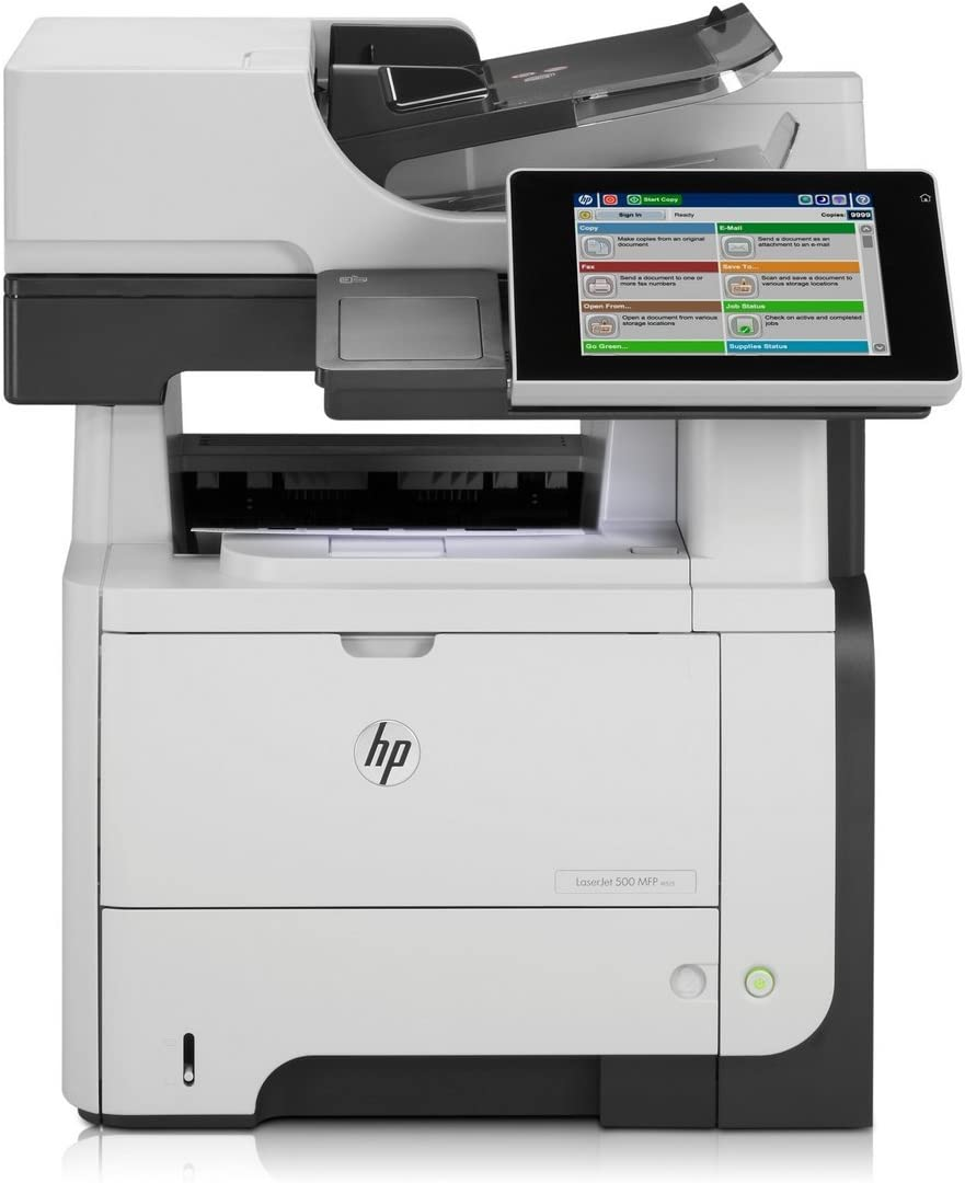 HP LaserJet Enterprise 500 M525F M525 CF117A All-in-One Machine with New 55A Toner and 90/Day Warranty(Renewed)