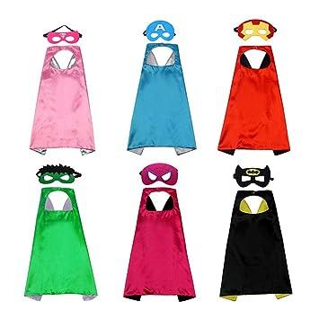 70cm Kids Fun Party Superheros Cape for Children Halloween Costumes Favors Capes