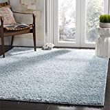 Safavieh New York Shag Collection SG166D Blue Area Rug (4′ x 6′) Review