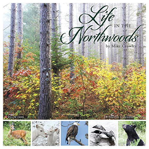 Life in the Northwoods 2020 Wall Calendar