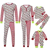 Family Matching Clothes Christmas Pyjama Sets Parent-Child Suit Homewear Family Clothing Set Women Man Newborn Infant Baby Boy Girl Xmas Sleepwear, Adult PJs Fun Nightwear(Kid,4T)