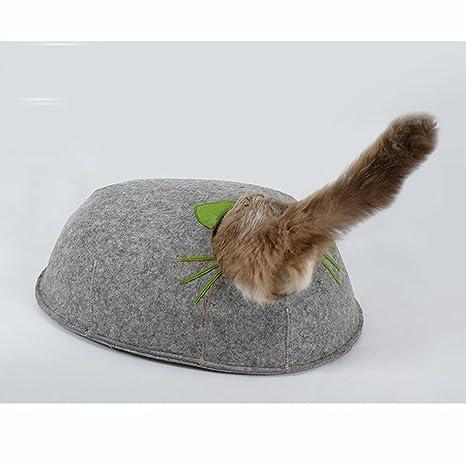 MUJING - Caseta de Fieltro para Mascotas, Gatos, Gatos, Gatos, Gatos,