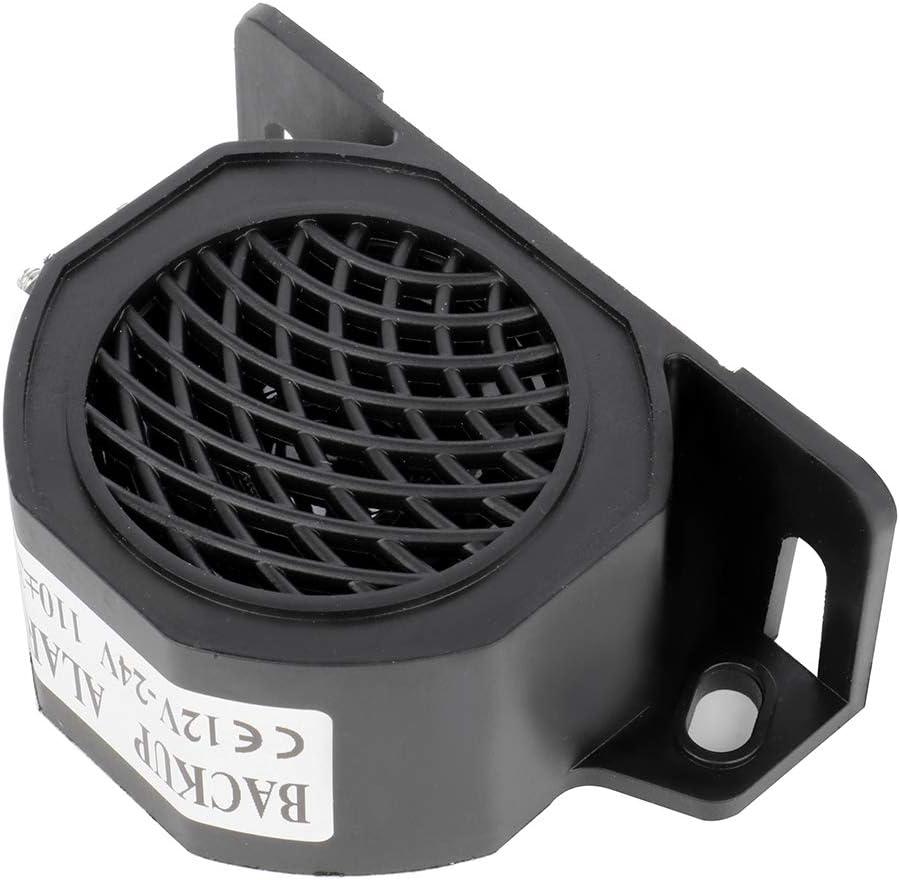 LUJUNTEC 110DB Backup Warning Alarm Universal Heavy-Duty Reverse Alarm Horn for Truck Van Freight Car Lorry