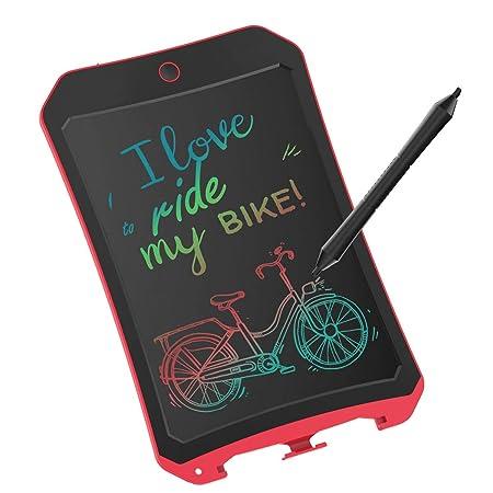 YYhappy childhood Writingg tableta de regalo de cumpleaños, niños de juguete en 8,5 LCD colorido de la tableta Writinggs Blocs de dibujo electrónico ...