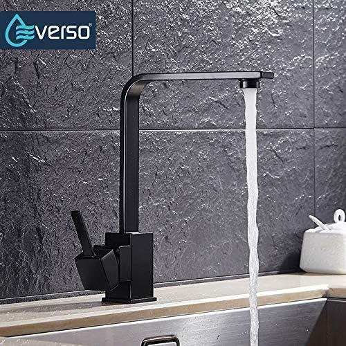 Everso Modern Kitchen Sink Taps Mixer Schwenkauslauf-Hahn-Hahn Einhebel-Luxus-elegante 360 Grad drehbaren wasserhahn für küche jilisay