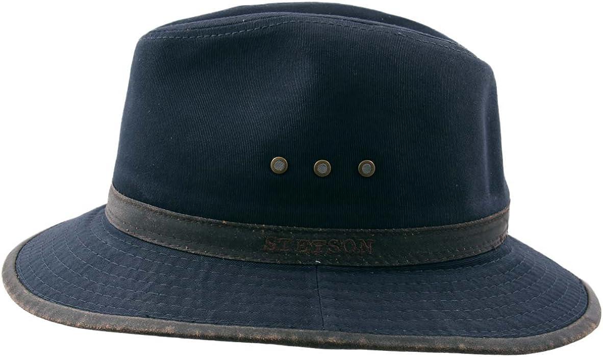 c48bb00e90716 Stetson Traveller Cotton Bucket Hats Packable Size S Blue-marine-23 ...