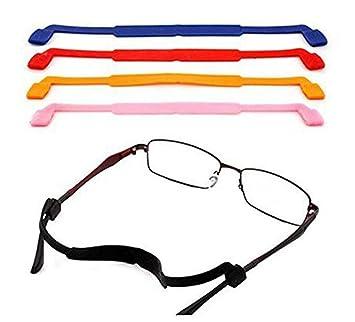 5 gafas de sol antideslizantes de colores mezclados, correa ...