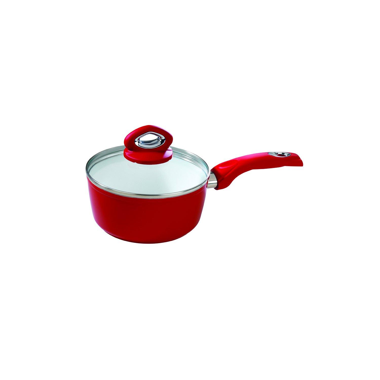 Bialetti Aeternum Red 7199 Sauce Pan, 2-Qt