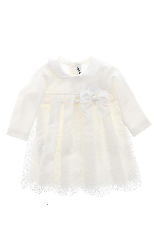 come acquistare stili classici autentico Aletta Baby Abito Battesimo Cerimonia Made in Italy 6M: Amazon.it ...