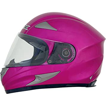 Amazon.com: AFX FX-90 Solid casco, nombre Distinct: Fucshia ...