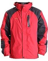 Clothin クロスン メンズ アウトジャケット アノラック クライミング 多機能ジャケット 登山用 防水 防寒 男性