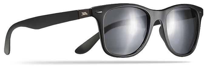 Trespass Matter Polarisierte mit Uv-Schutz und Stofftasche Sonnenbrille, Black, One Size