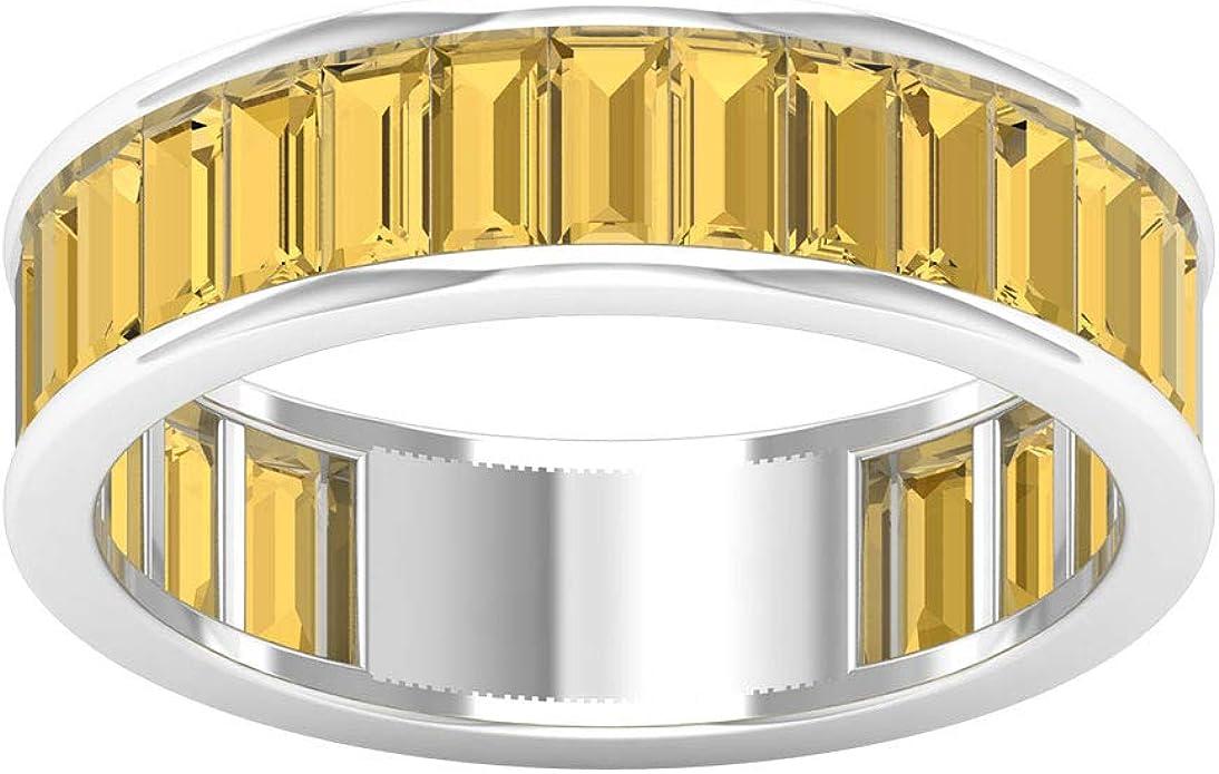 Silver Baguette Eternity Band Gold Baguette Ring Baguette Bands Dainty Baguette Rings Silver Baguette Eternity Rings Vintage Ring CZ Ring