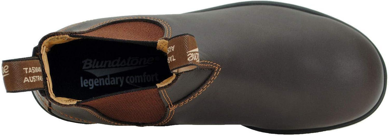 Blundstone Original Walnut Brown Premium Leather Dress Boots 550 Series