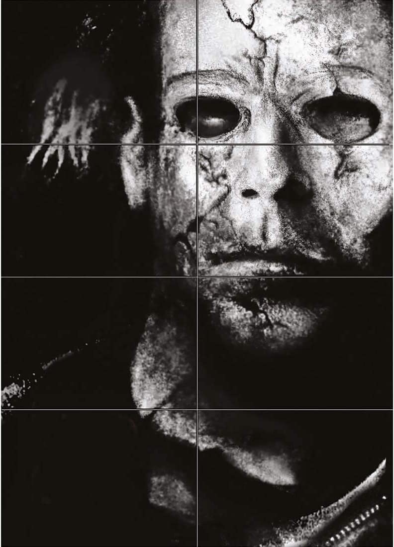 Amazon Com Doppelganger33 Ltd Michael Myers Giant Wall Art Print Poster St211 Posters Prints