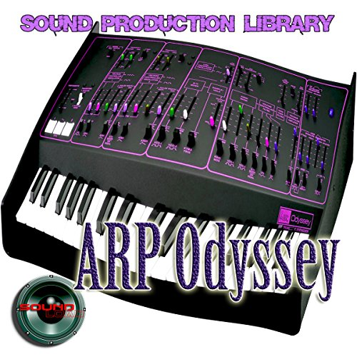 ARP Odyssey - The KING of analog sounds - Large unique original 24bit WAVE/Kontakt Multi-Layer Samples Studio Library; FREE USA Continental Shipping on DVD or download by SoundLoad