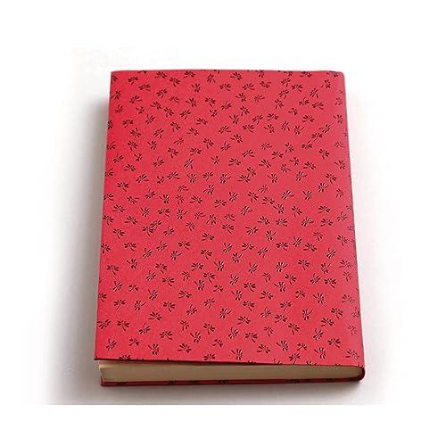 プラスオレンジ 印傳のような紙のブックカバー