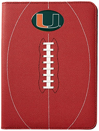 GameWear NCAA Miami Hurricanes Classic Football Portfolio & ID Holder Gift Pack, One Size, Brown (Leather Football Ncaa Hurricanes Miami)