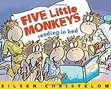 Five Little Monkeys Reading in Bed, Eileen Christelow, 0547386109