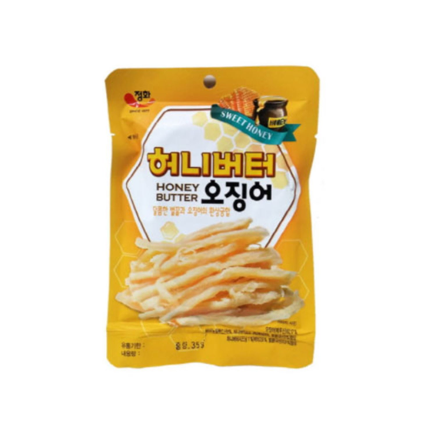 [Jung Hwa] Grilled Honey Butter Squid - 30g x 3 Pack by JUNGHWA