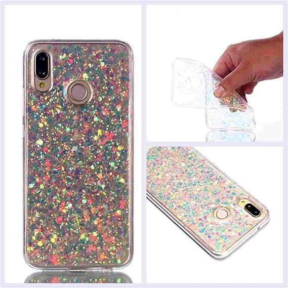 super popular de3cc 1219a Amazon.com: Huawei P20 Lite Case,Gift_Source Luxury Bling Glitter ...