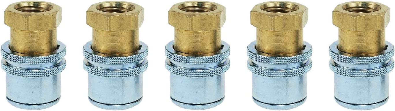 Haltec H-5265 Standard Bore Lock On Air Chuck 5 Pack