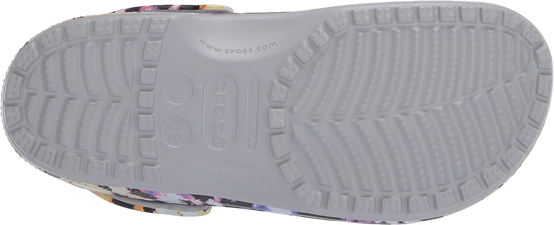 Adulto Classic Tie Dye Mania Clog Pantofole Unisex Crocs