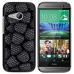 Be Good Phone Accessory // Dura Cáscara cubierta Protectora Caso Carcasa Funda de Protección para HTC ONE MINI 2 / M8 MINI // Blackberry Forest Garden Fresh Berries