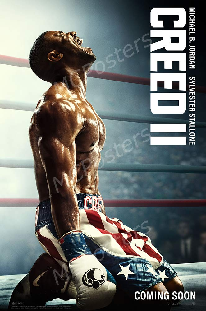 "MCPosters - Creed II Rocky Glossy Finish Movie Poster - MCP555 (24"" x 36"" (61cm x 91.5cm))"