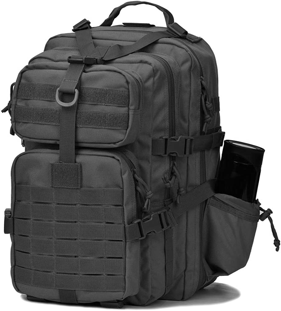 Rapdom Tactical Pack Military EDC Hiking Camping Outdoor Backpack Molle Bag T304